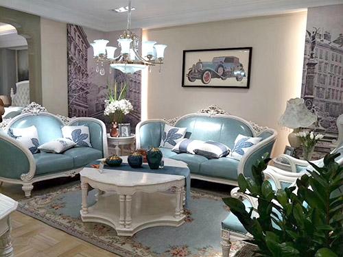 法式风格家居搭配应该如何运用色彩?