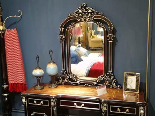 宫爵法式宫廷弧形梳妆柜怎么样?价格是多少?